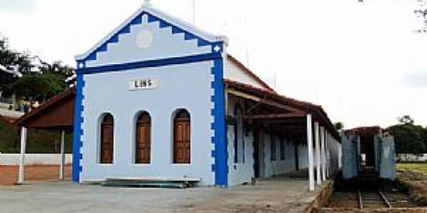 Lins-SP-Antiga Estação Ferroviária-Foto:Adriano Martins