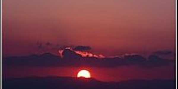 Crep�sculo visto da Serra de Mairipor�-Foto:raulmoraes