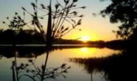 Manduri - Por-do-sol na Represa do Bairro Espraiado, Por JP Corrêa Carvalho