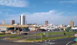 Matão - Rotatória em frente a Prefeitura, Por Jeziel Gomes