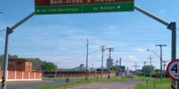 Entrada pela Avenida Marchesan, Por Jeziel Gomes