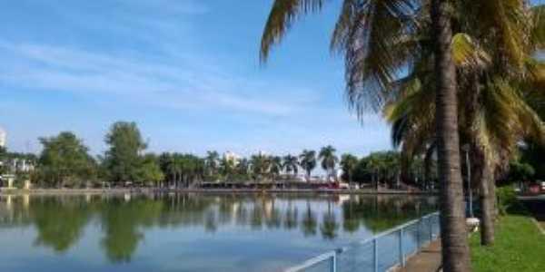 Lago do Parque Ecológico, Por Jeziel Gomes