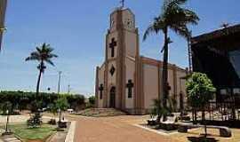 Mendonça - Mendonça-SP-Praça e Matriz de São Jacinto-Foto:cidadeselugares.blogspot.com