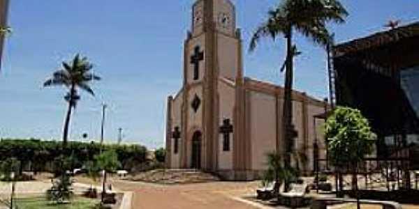 Mendonça-SP-Praça e Matriz de São Jacinto-Foto:cidadeselugares.blogspot.com