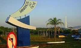Mineiros do Tietê - Mineiros do Tietê-SP-Pórtico de entrada da cidade-Foto:Gerson Luciano