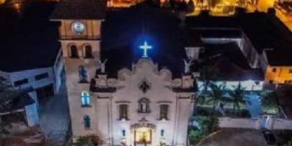 Imagem aérea da igreja matriz, Por PAULO VALVERDE