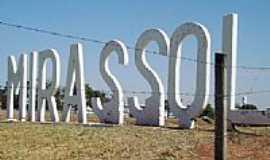 Mirassol - Entrada da cidade, por Vanderlei de Campos.