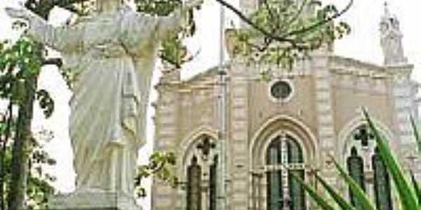 Cristo Redentor e Igreja Matriz