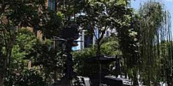 Mogi das Cruzes-SP-Praça Francisca de Campo Mello Freire-Praça do Trator-Foto:Daniel Souza Lima