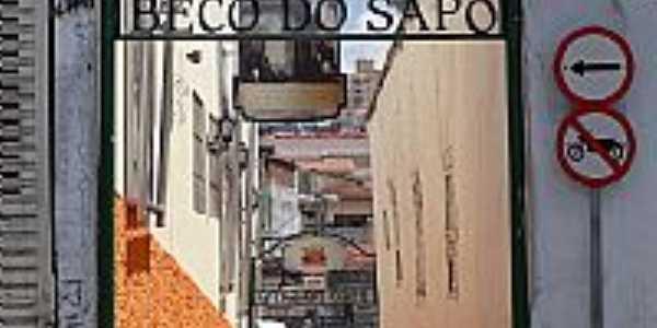 Mogi das Cruzes-SP-Travessa Cel.João de Souza Machado-Beco do Sapo-Foto:Daniel Souza Lima