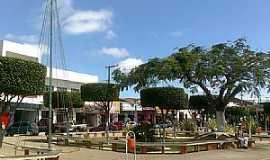 Poções - Poções-BA-Praça Central-Foto:Miguel de Guilo