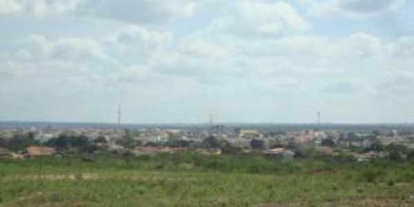 Poções vista do bairro Bela Vista, Por eliana