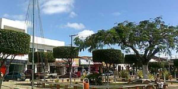 Poções-BA-Praça Central-Foto:Miguel de Guilo