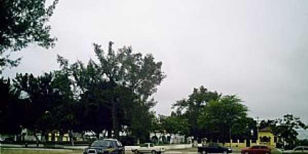 Poções-BA-Praça da Bandeira-Foto:Miguel de Guilo