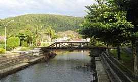 Mongaguá - Mongaguá-SP-Ponte férrea sobre o Rio Mongaguá-Foto:Marco .Mountain