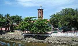 Mongaguá - Mongaguá-SP-Torre da Matriz de N.Sra.Aparecida-Foto:Marco .Mountain