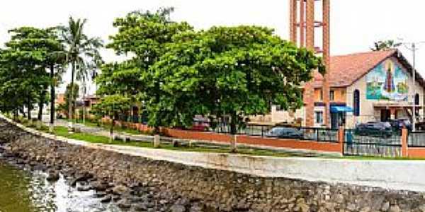 Mongaguá-SP-Matriz de N.Sra.Aparecida-Foto:mongagua.sp.