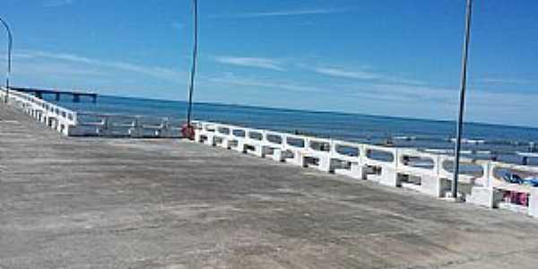 Mongaguá-SP-Plataforma de Pesca, a maior da América Latina-Foto:Conceição Savioli