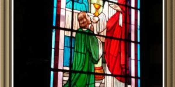 um vitral do santuário, Por Rospo Mattiniero di Meolo