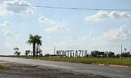 Monte Azul Paulista - Monte Azul Paulista-SP-Trevo de acesso-Foto:Alexandre Bonacini