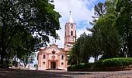 Nipoã - Praça e Igreja-Foto:Francisco Melchior