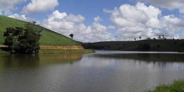 Joaquim Gomes-AL-Vista da lagoa e região-Foto:Sergio Falcetti