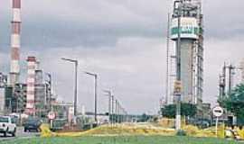 Polo Petroquímico de Camaçari - Vista do Pólo Petroquímico