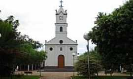Nova América - Praça e Igreja-Foto:Manoel Messias de So…