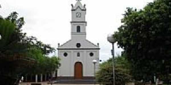Praça e Igreja-Foto:Manoel Messias de So…