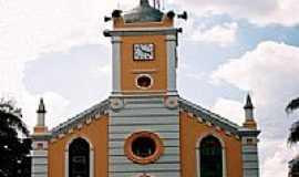 Nova Europa - Igreja Matriz do Sagrado Coração de Jesus-Foto:Zekinha