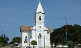 Ponta da Areia - Igreja N.S. de Lourdes em Ponta da Areia, por Serjão.