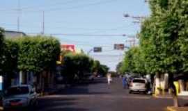 Nova Luzitânia - rua principal - , Por Edir Cardoso de Andrade