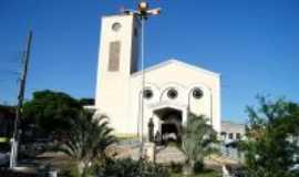 Nova Veneza - Igreja Matriz No Centro, Por Renato Jejus Santos