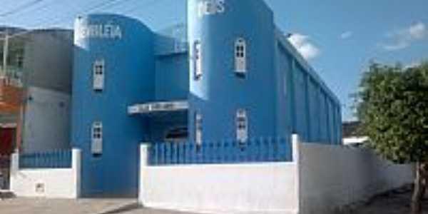 Igreja da Assembl�ia de Deus em Ponto Novo-BA-Foto:IRANILTON