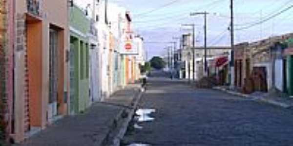 Rua Bela Vista em Ponto Novo-BA-Foto:Rekarte