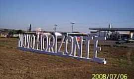 Novo Horizonte - Entrada da cidade-Foto:LuziACruzFrata