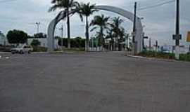 Novo Horizonte - Portal de entrada-Foto:LuziACruzFrata