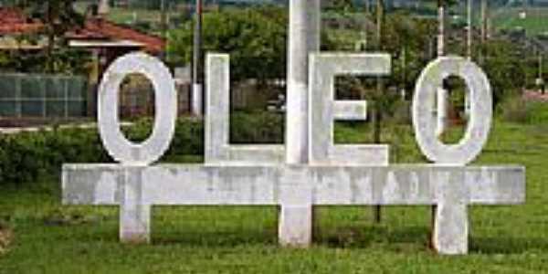 Entrada da cidade de Óleo-Foto:Carlos Zeppy