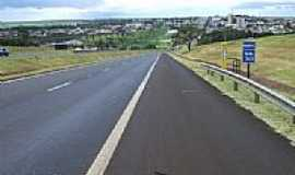 Orlândia - Orlândia vista da Rodovia Anhanguera-Foto:MARCO AURELIO ESPARZ…