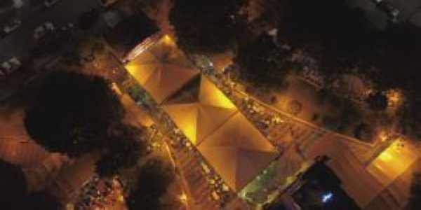 Vista Aérea da Praça da Matriz, Por Erica Amorim
