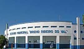 """Osvaldo Cruz - Osvaldo Cruz-SP-Estádio Municipal""""Breno ribeiro do Val""""-Foto:Eduardo Dantas"""