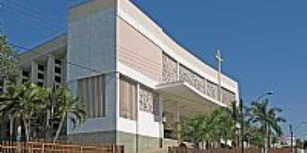 Osvaldo Cruz-SP-Igreja de São José-Foto:Eduardo Dantas