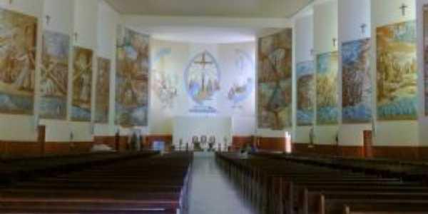Interior da Igreja Matriz de São José, Por Emanuel