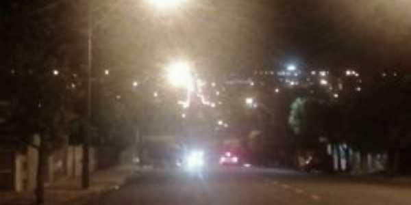 AVENIDA Presidente Vargas com vista parcial da cidade - noturno, Por Emanuel
