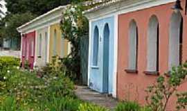 Porto Seguro - Casario da Cidade Velha em Porto Seguro-BA-Foto:ganzilotomich