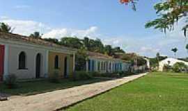 Porto Seguro - Casas típicas do antigo porto em Porto Seguro-BA-Foto:Victoria Osorio