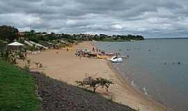 Panorama - Panorama-SP-Praia do Balneário Municipal-Foto:Rubens da Silva Ramos