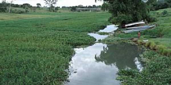 Panorama-SP-Rio Marreca afluente do Rio Paraná-Foto:Rubens da Silva Ramos