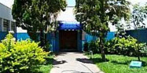 Entrada do Salão Nobre da Escola-Foto:Mauro Luiz Benedito …