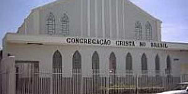 Igreja da Congregação Cristã do Brasil em Paranapuã-Foto:congregacaocrista.